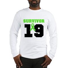 Lymphoma Survivor 19 Year Long Sleeve T-Shirt