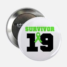 "Lymphoma Survivor 19 Year 2.25"" Button (10 pack)"