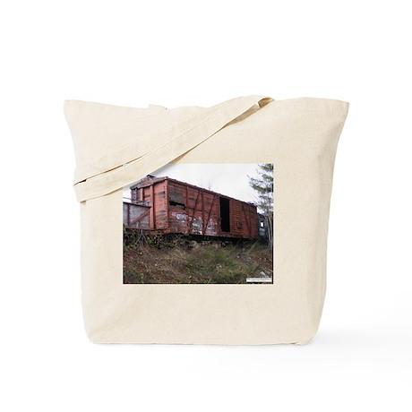 Boxcar Tote Bag