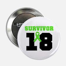 "Lymphoma Survivor 18 Year 2.25"" Button (10 pack)"