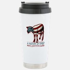 A Nation of Sheep Stainless Steel Travel Mug
