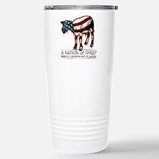 A Nation of Sheep Thermos Mug