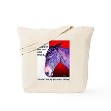 Appaloosa Mule Tote Bag