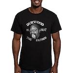 Durwood print Men's Fitted T-Shirt (dark)