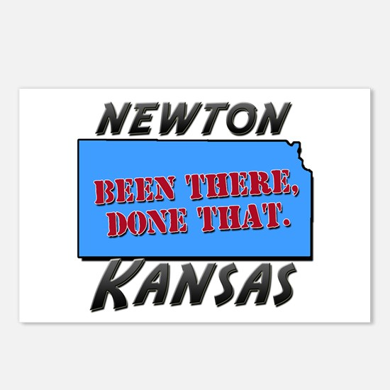 newton kansas - been there, done that Postcards (P