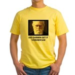 ID Darwin Backwards Yellow T-Shirt