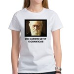 ID Darwin Backwards Women's T-Shirt