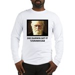 ID Darwin Backwards Long Sleeve T-Shirt