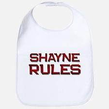shayne rules Bib