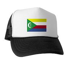 Comoros Flag Trucker Hat