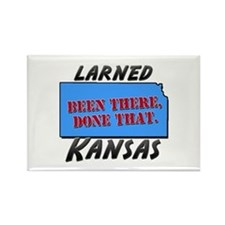 larned kansas - been there, done that Rectangle Ma