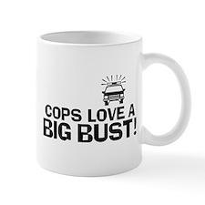 Cops Love a Big Bust Mug