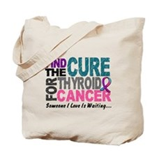 Find The Cure 1 THYROID CANCER Tote Bag