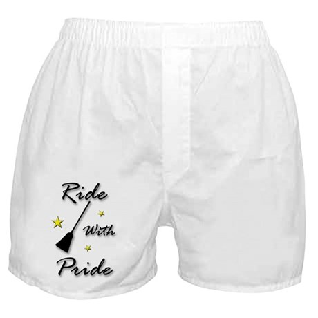 """Ride With Pride"" Boxer Shorts"