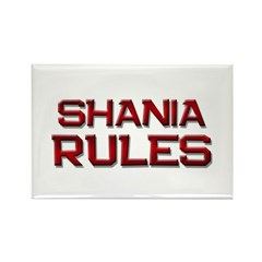 shania rules Rectangle Magnet (10 pack)