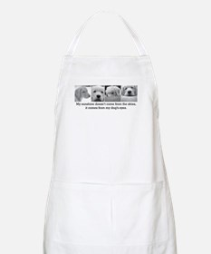 My Dog's Eyes BBQ Apron