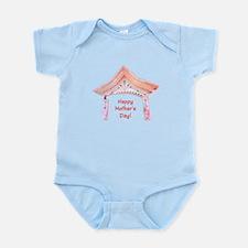 Mothers Day Pink Asian Door Body Suit