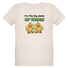 Big sister of twins - Ducks T-Shirt
