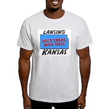 lansing kansas - been there, done that T-Shirt