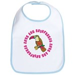 Cute Save The Rainforest Bib