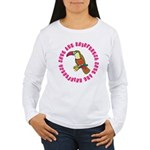 Cute Save The Rainforest Women's Long Sleeve T-Shi