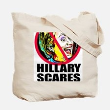 Hillary Scares Me Tote Bag