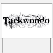 Taekwondo Yard Sign