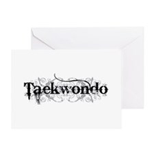 Taekwondo Greeting Card