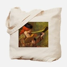 Renoir Spanish Woman with Guitar Tote Bag