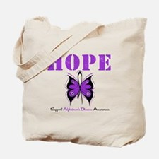 Alzheimer's Hope Tote Bag