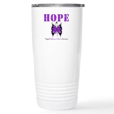Alzheimer's Hope Stainless Steel Travel Mug