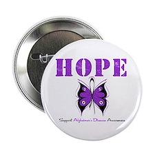"""Alzheimer's Hope 2.25"""" Button"""