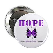 """Alzheimer's Hope 2.25"""" Button (100 pack)"""