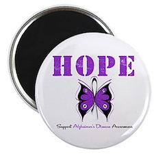 """Alzheimer's Hope 2.25"""" Magnet (10 pack)"""