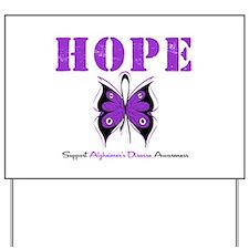 Alzheimer's Hope Yard Sign