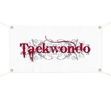 Taekwondo Red Banner