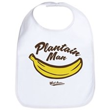 Plantain Man Bib