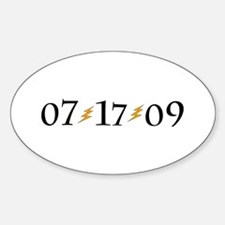 HBP - 07.17.09 Oval Decal