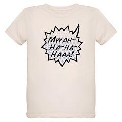 'Evil Laugh' Organic Kids T-Shirt