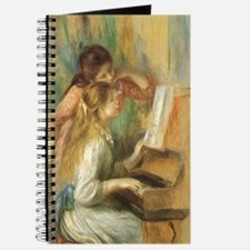 Young Girls at the Piano by Renoir Journal