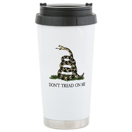 Don't Tread On Me Stainless Steel Travel Mug