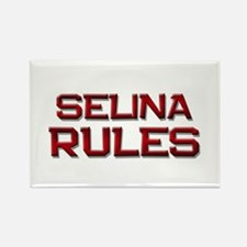 selina rules Rectangle Magnet