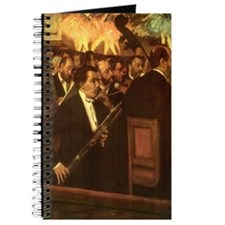 Orchestra of Opera by Degas Journal