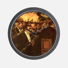 Orchestra of Opera by Degas Wall Clock