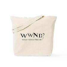 WWND? Neo Tote Bag