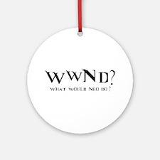 WWND? Neo Ornament (Round)