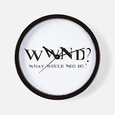 WWND? Neo Wall Clock