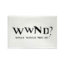 WWND? Neo Rectangle Magnet
