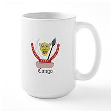 Congolese Coat of Arms Seal Mug