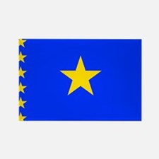 Congo Flag Rectangle Magnet